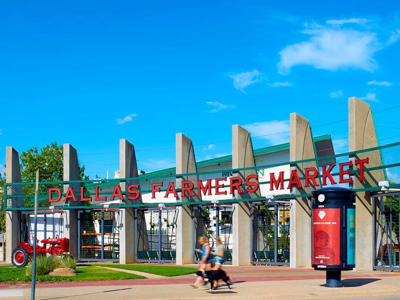 Dallas Farmers Market, Dallas Texas