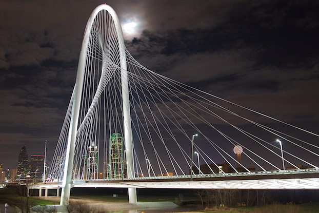 The Margaret McDermott Bridge (Dallas Suspension Bridge)